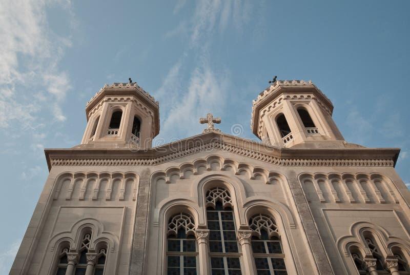 教会杜布罗夫尼克市 免版税图库摄影