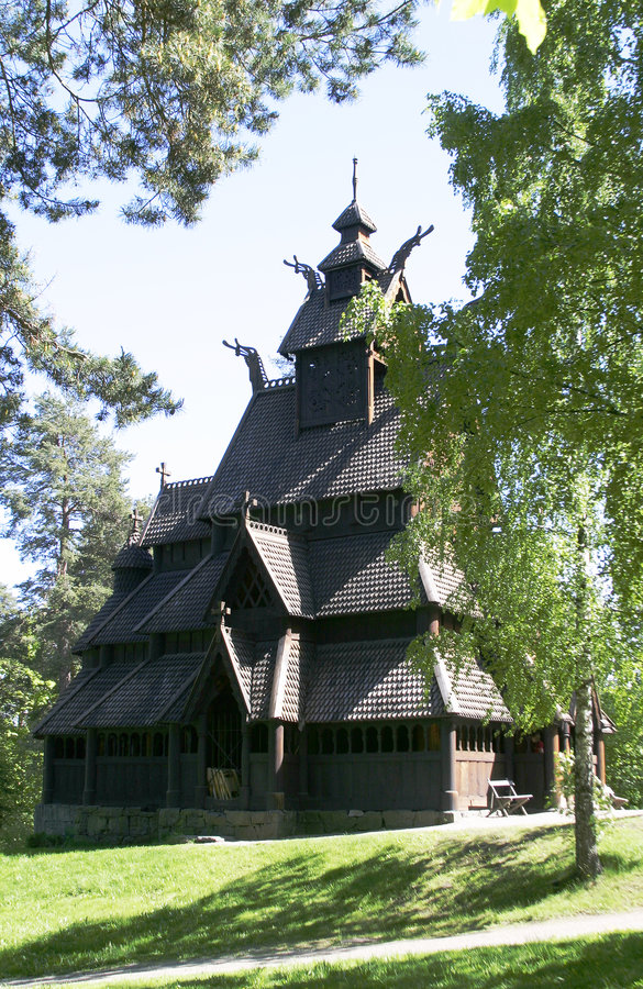 教会梯级 库存图片
