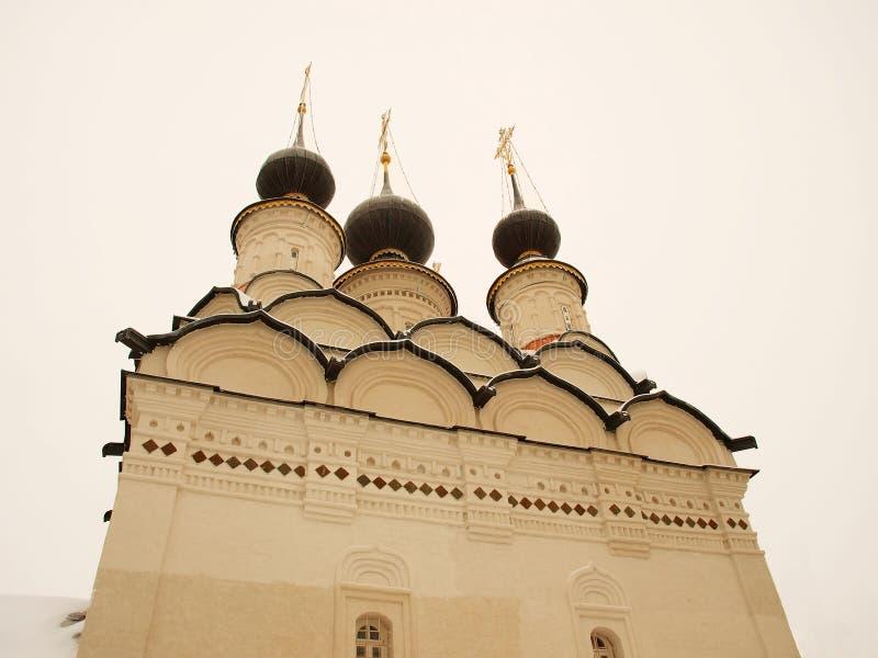 教会正统俄国 免版税库存照片