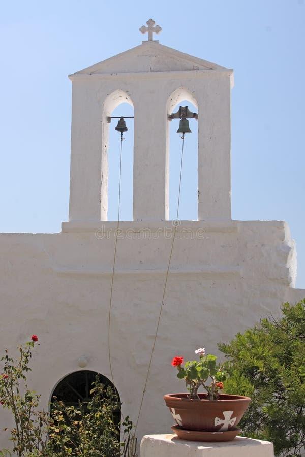 教会海岛 免版税库存图片