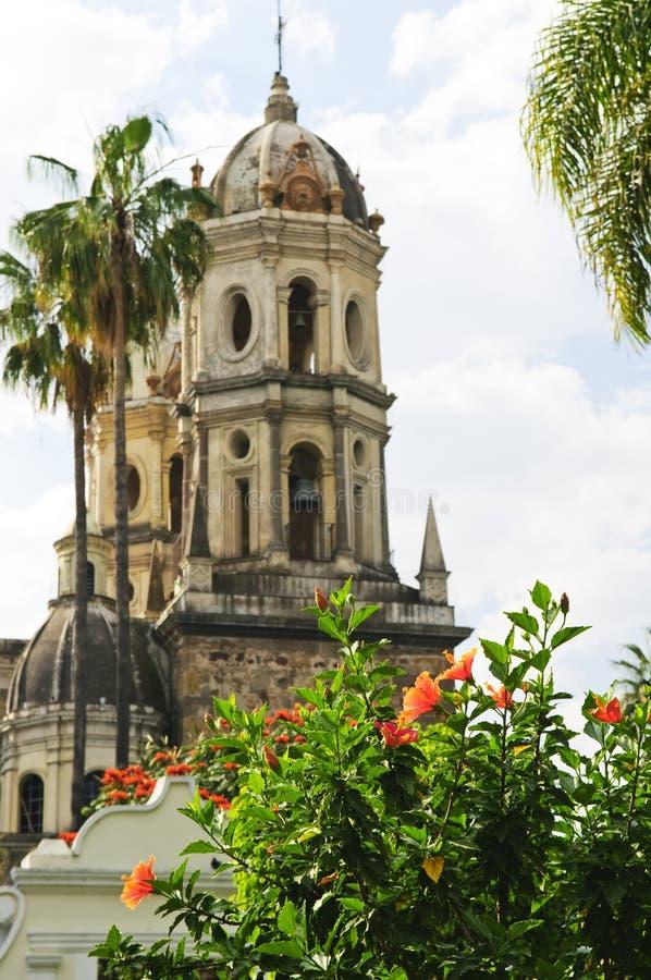 教会瓜达拉哈拉jalisco墨西哥 库存图片