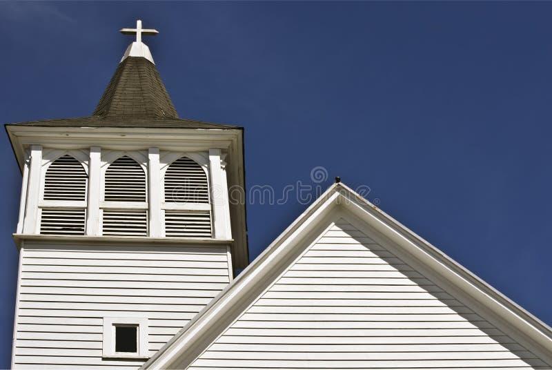 教会白色 库存照片