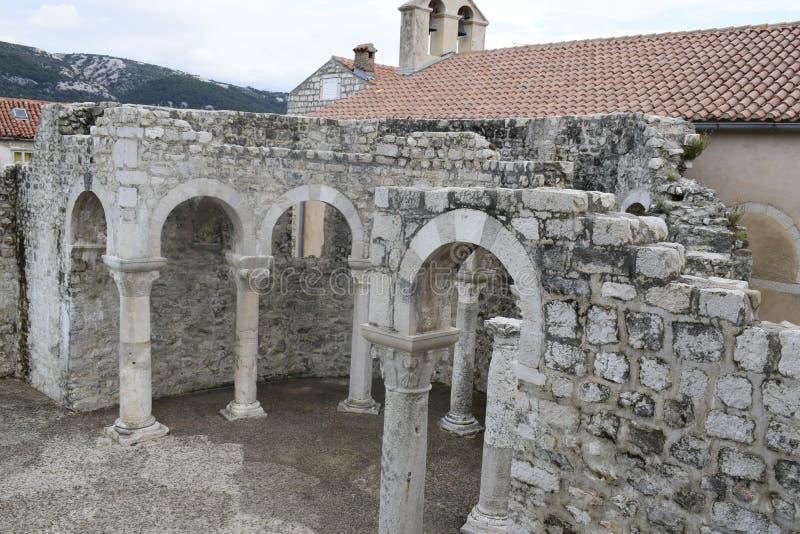 教会的遗骸 免版税库存图片