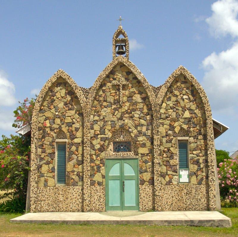 教会石头 免版税库存图片
