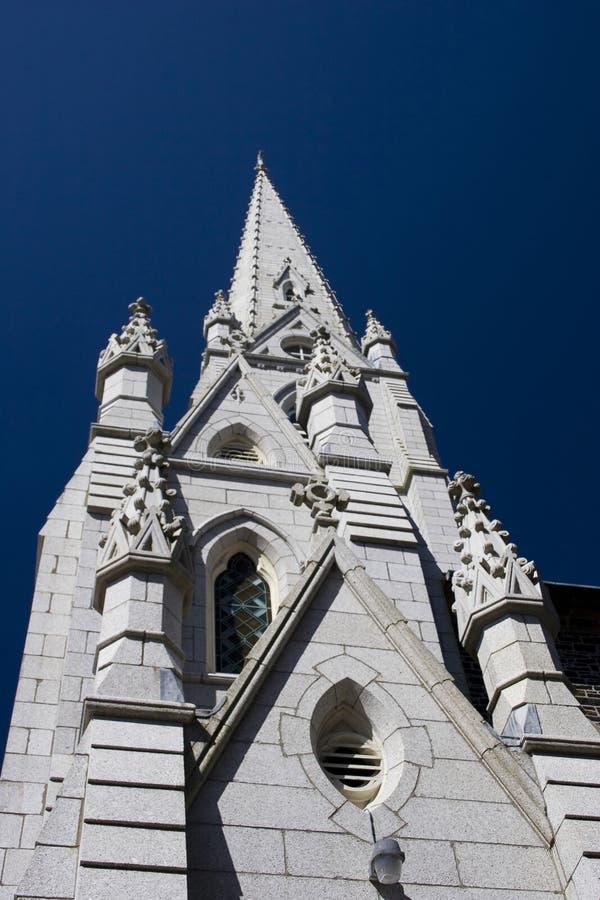 教会石头 库存图片