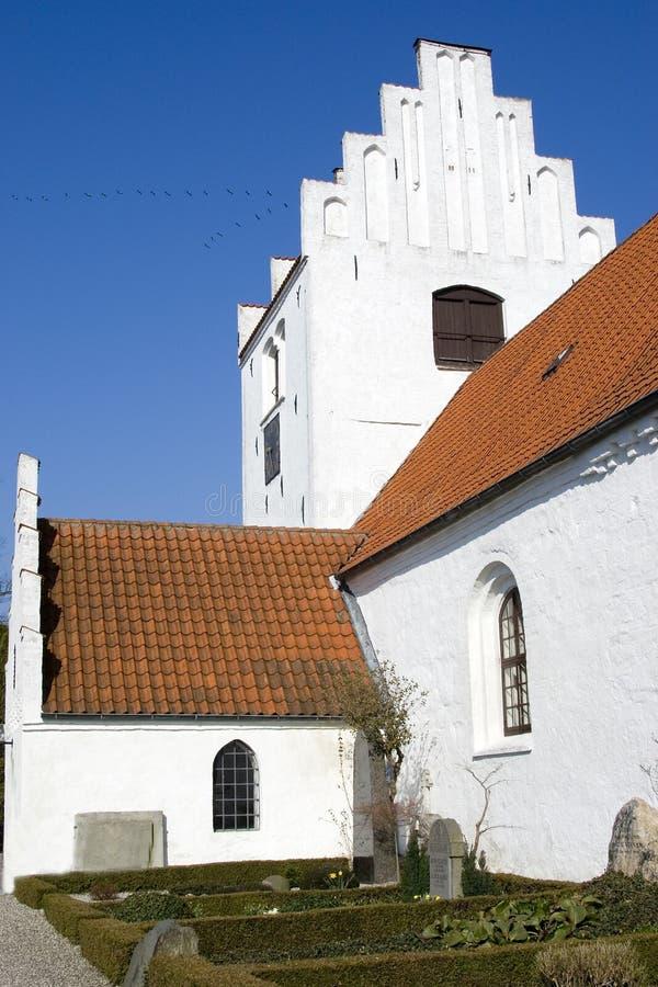 教会端 免版税库存图片