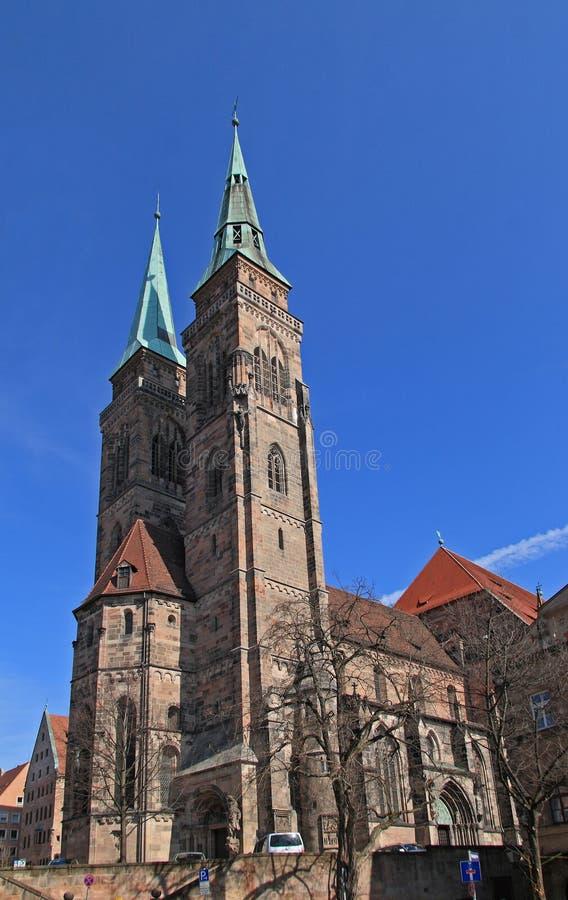 教会纽伦堡sebaldus 免版税库存图片