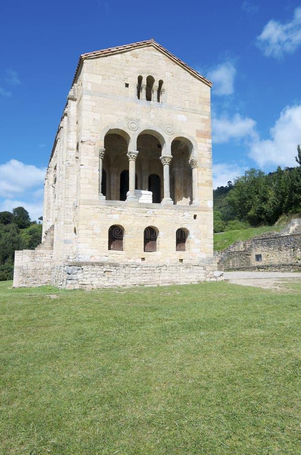 教会罗马式 库存图片