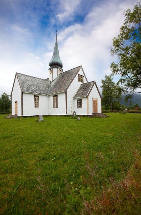 教会老挪威 库存图片