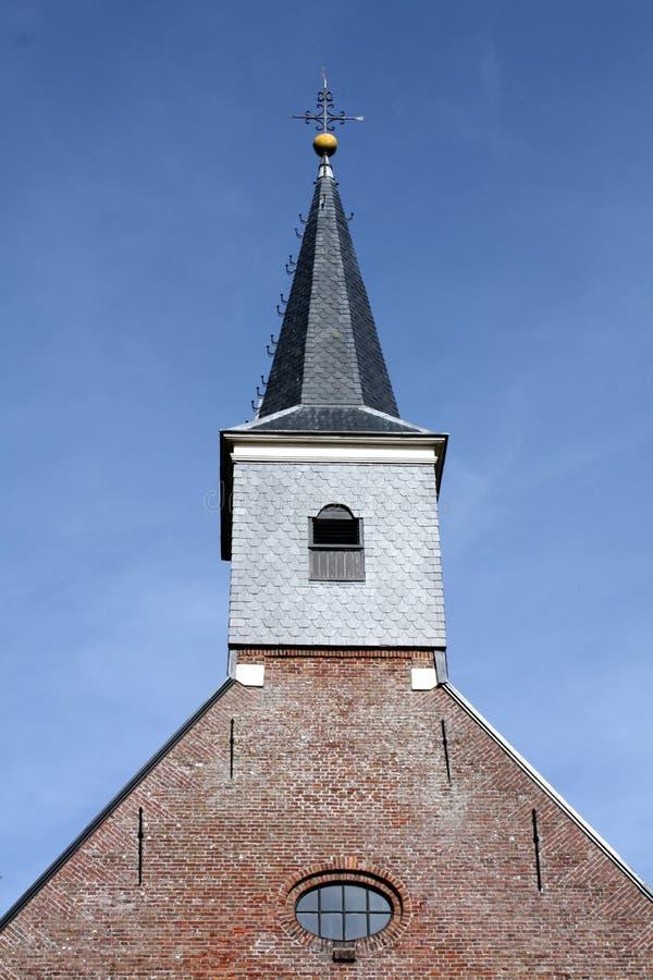 教会老protestantse 库存图片