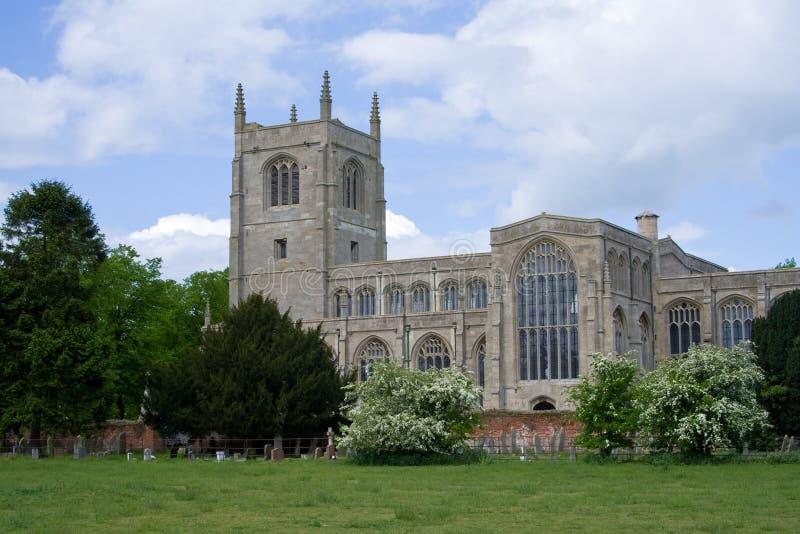 教会英国林肯郡tattershall 免版税库存照片