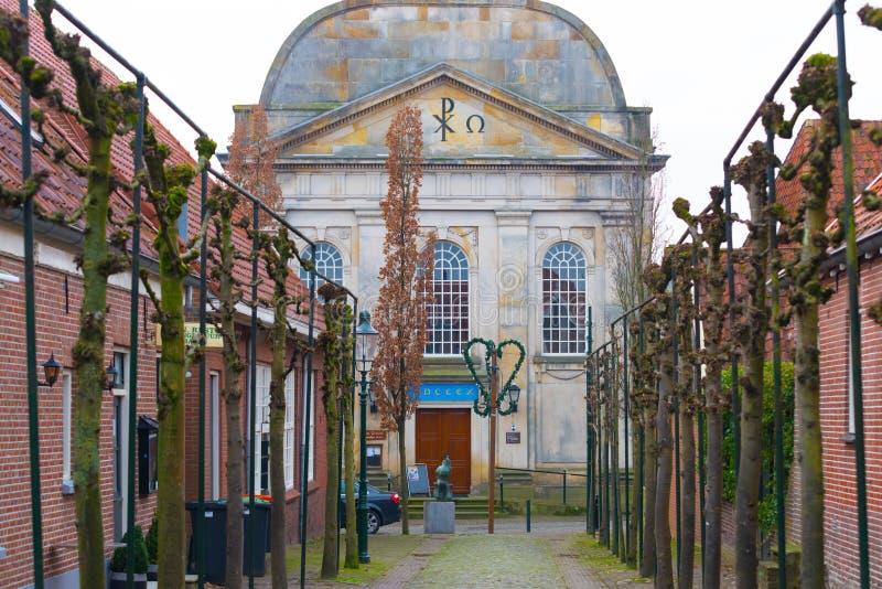 教会荷兰语被改革 免版税图库摄影