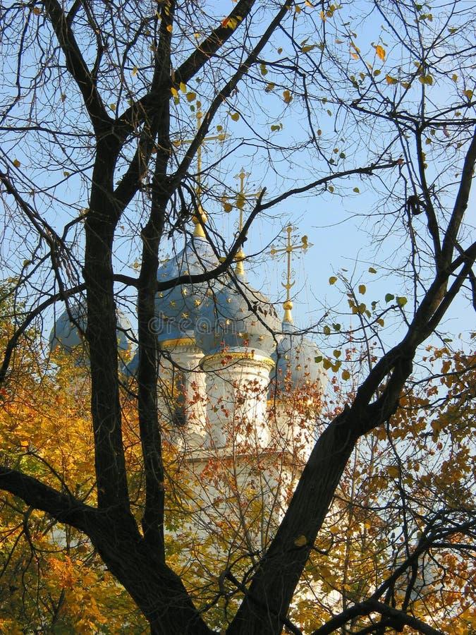 教会莫斯科俄国俄语 库存图片