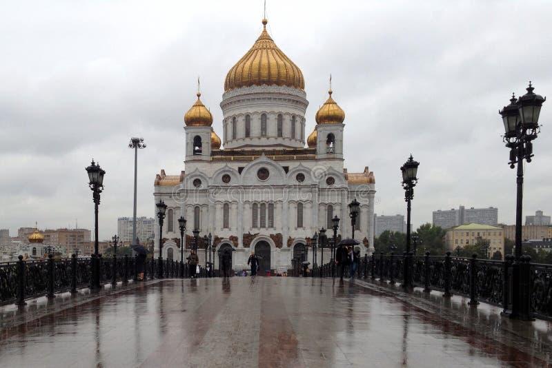 教会莫斯科俄国 免版税图库摄影
