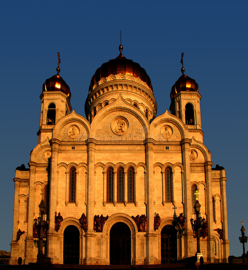 教会莫斯科 图库摄影