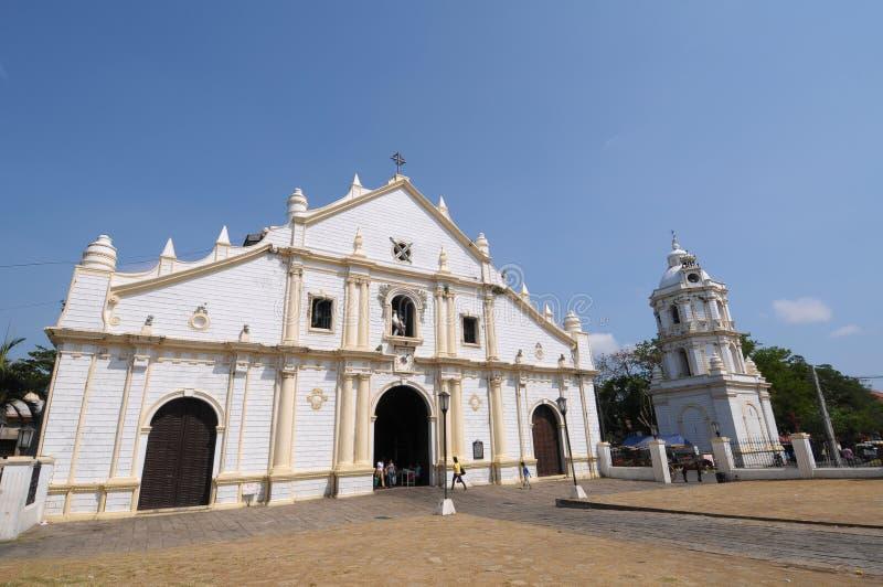 教会菲律宾 图库摄影