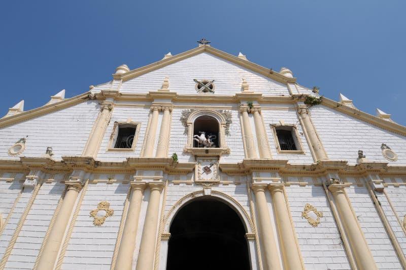 教会菲律宾 免版税库存照片