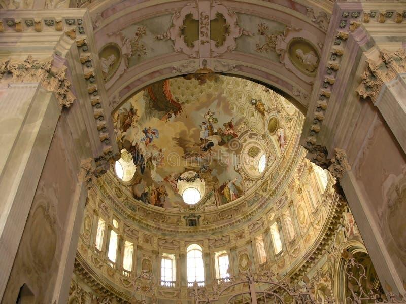 教会装饰内部 库存照片