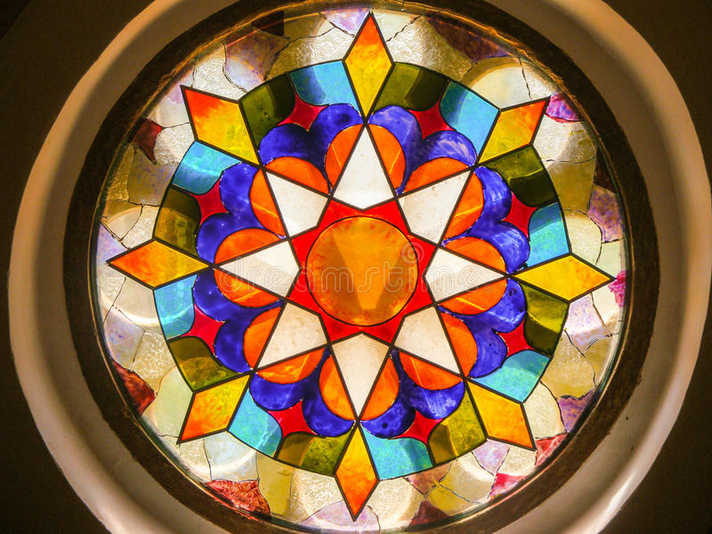教会视窗 免版税图库摄影