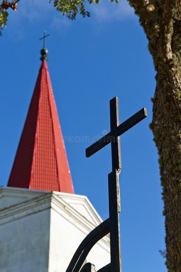 教会路德教会 免版税库存照片