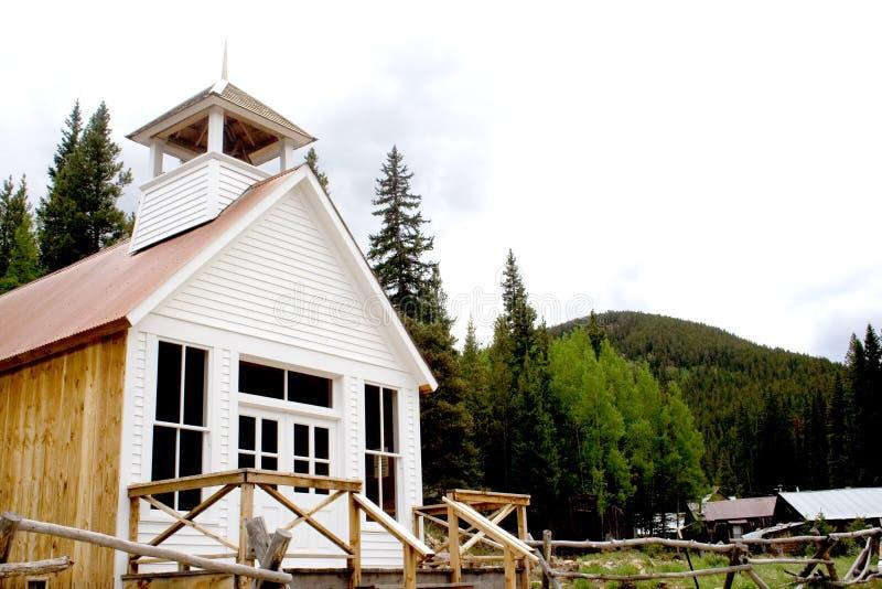 教会边境 免版税库存图片