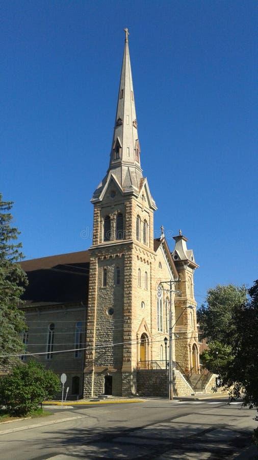 教会迈克尔s st 免版税图库摄影