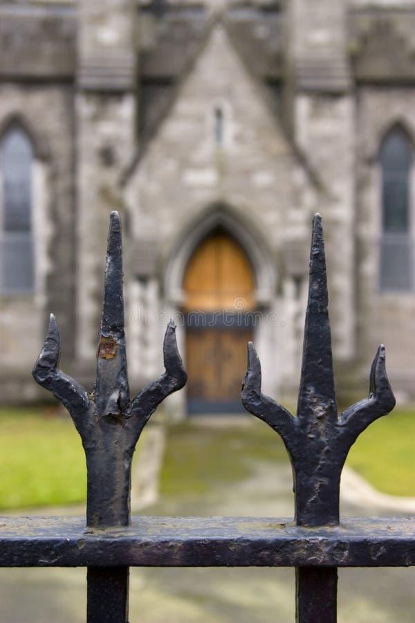 教会都伯林 库存图片