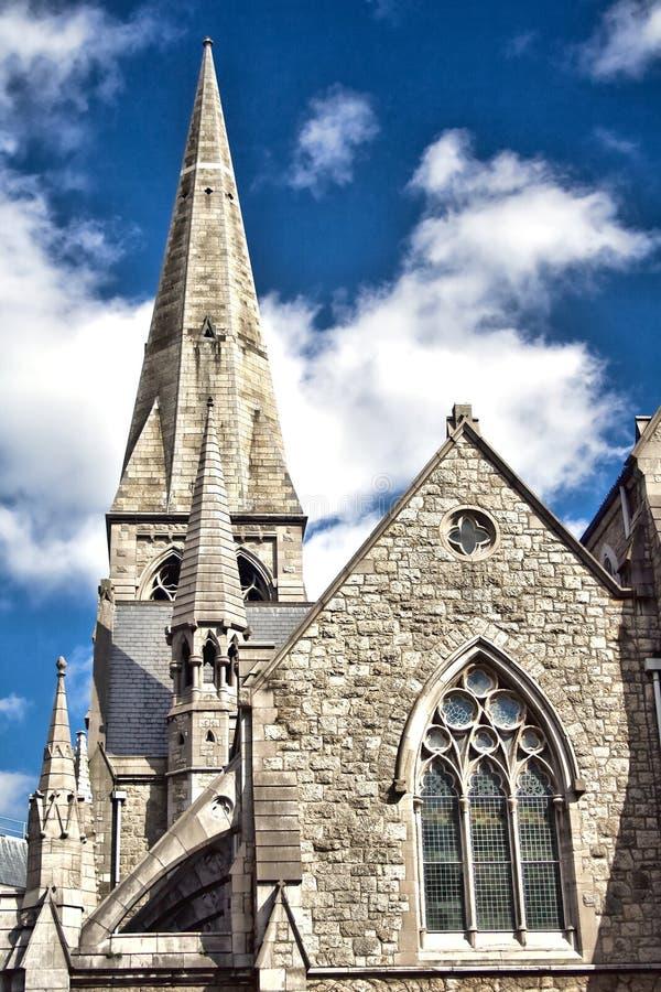 教会都伯林 免版税库存图片