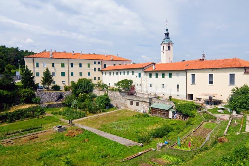 教会,力耶卡,克罗地亚 免版税库存图片