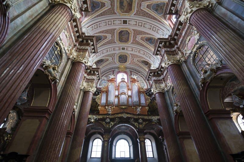 教会,波兹南 库存图片