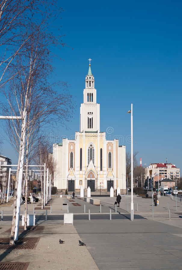 教会-华沙 免版税库存图片