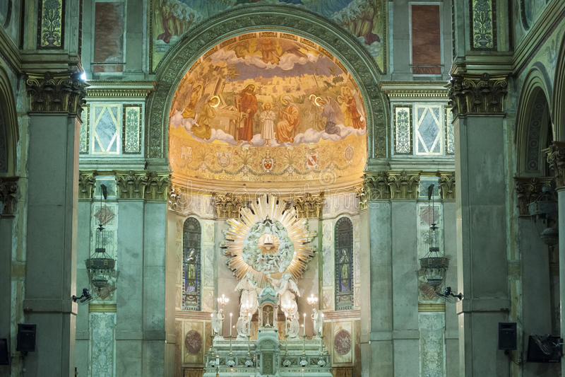 教会贝拉母,巴西 免版税库存照片