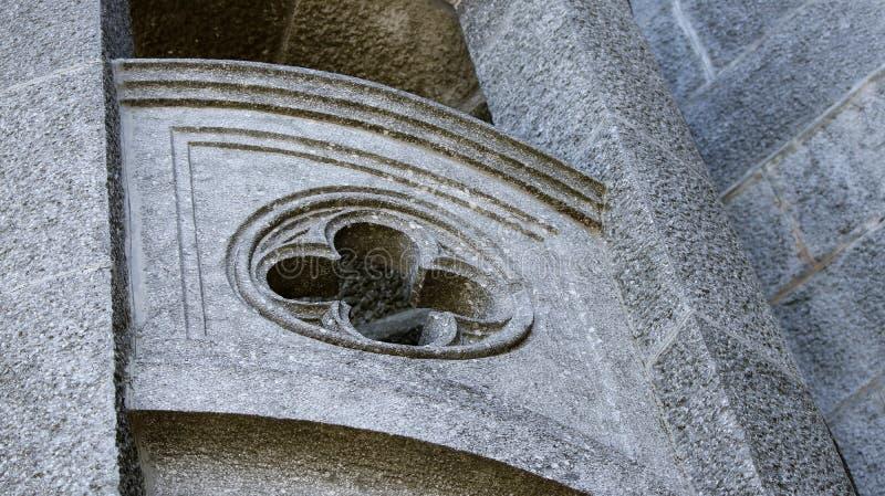 教会建筑元素 免版税图库摄影