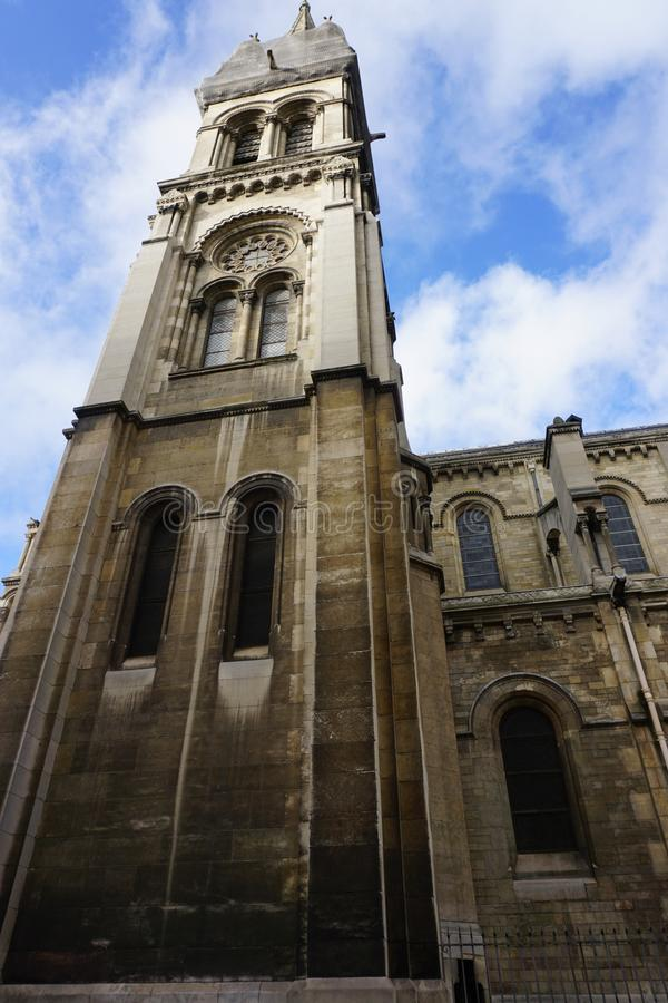 巴黎教会 库存照片