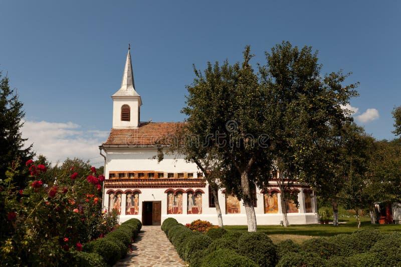 教会Brancoveanu 免版税库存照片