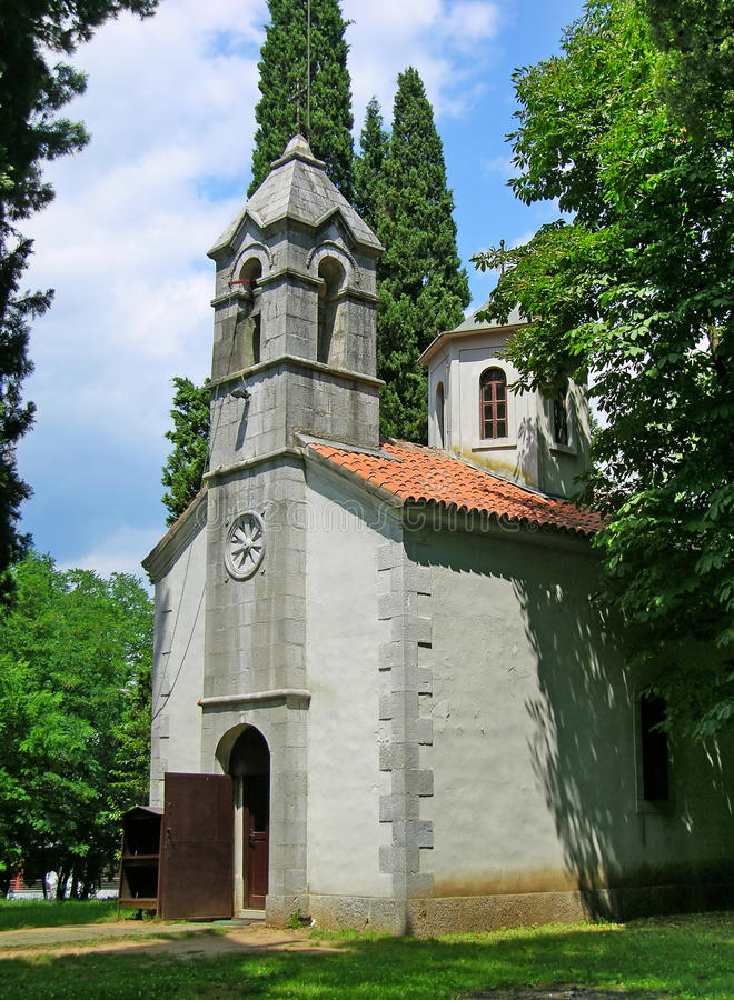 教会dimitrij圣洁podgorica 库存照片
