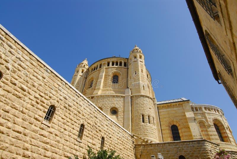 教会dormition以色列 免版税库存照片