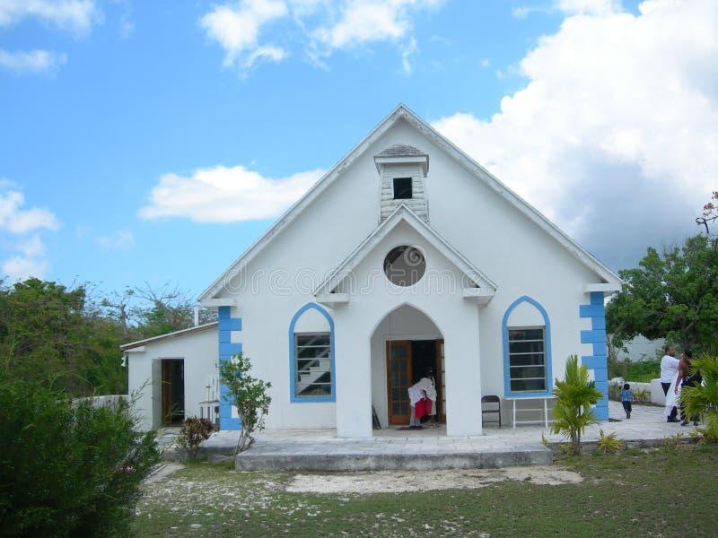 教会eleuthera 图库摄影