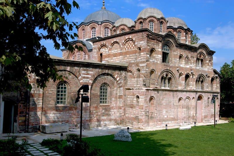 教会hora伊斯坦布尔 库存照片