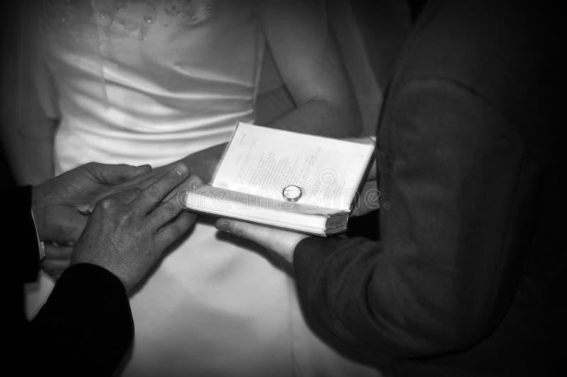 教会ii婚姻 图库摄影