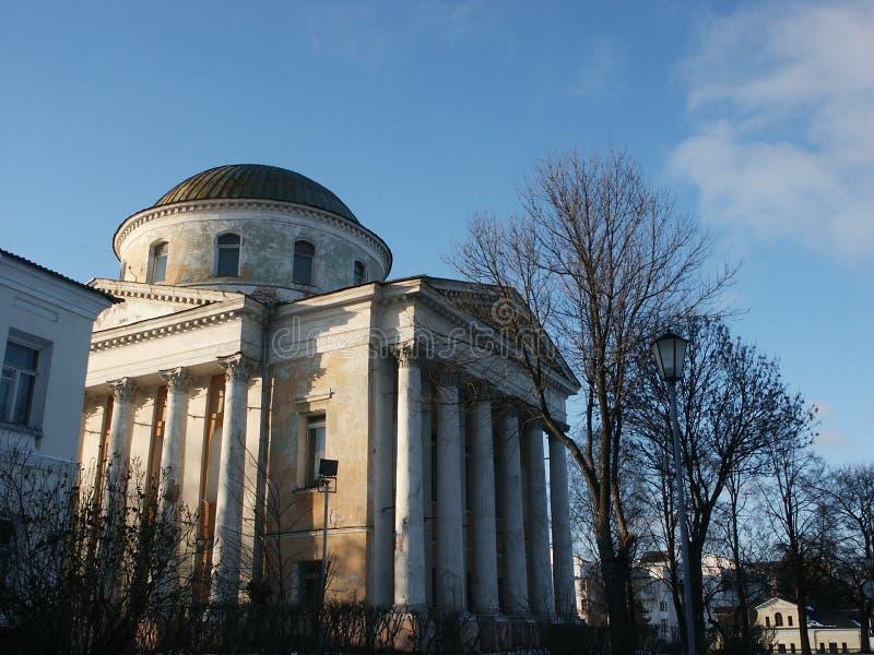 教会iliynsko tihonovskaya 免版税库存图片