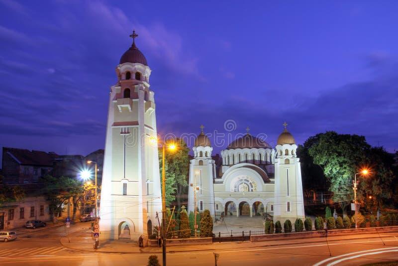教会iosefin正统罗马尼亚timisoara 免版税库存图片