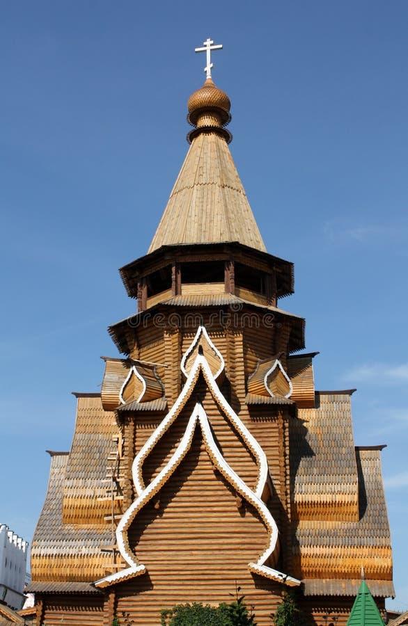 教会izmailovo尼古拉斯st 库存照片