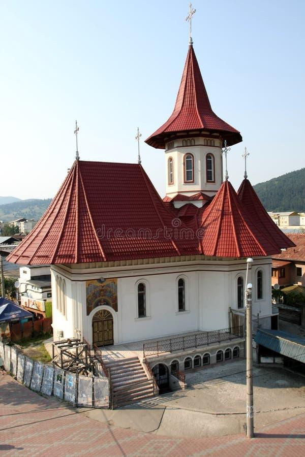 教会neamt piatra 库存图片