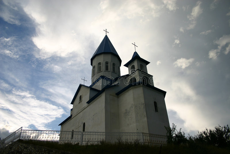 教会nikolas圣徒 库存照片