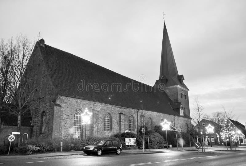 教会ottendorf 免版税库存照片