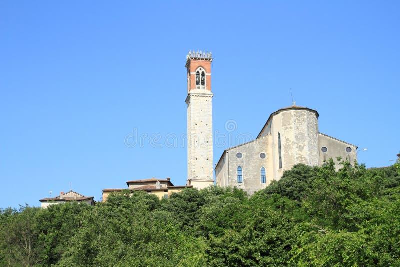 教会Parrocchia圣米谢勒Arcangelo 库存图片
