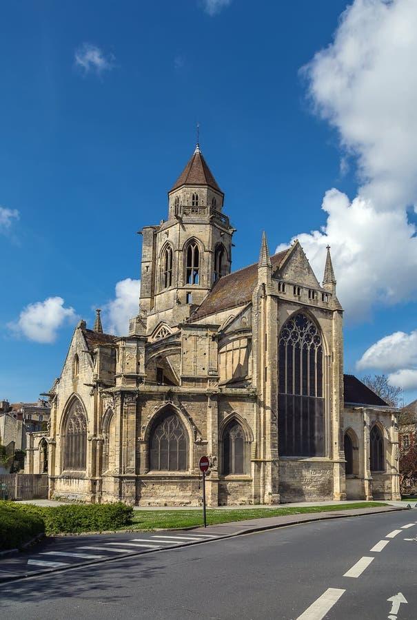 教会St艾蒂安leVieux,凯恩,法国 免版税库存照片