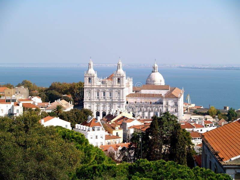 教会vicent里斯本葡萄牙的st 库存照片