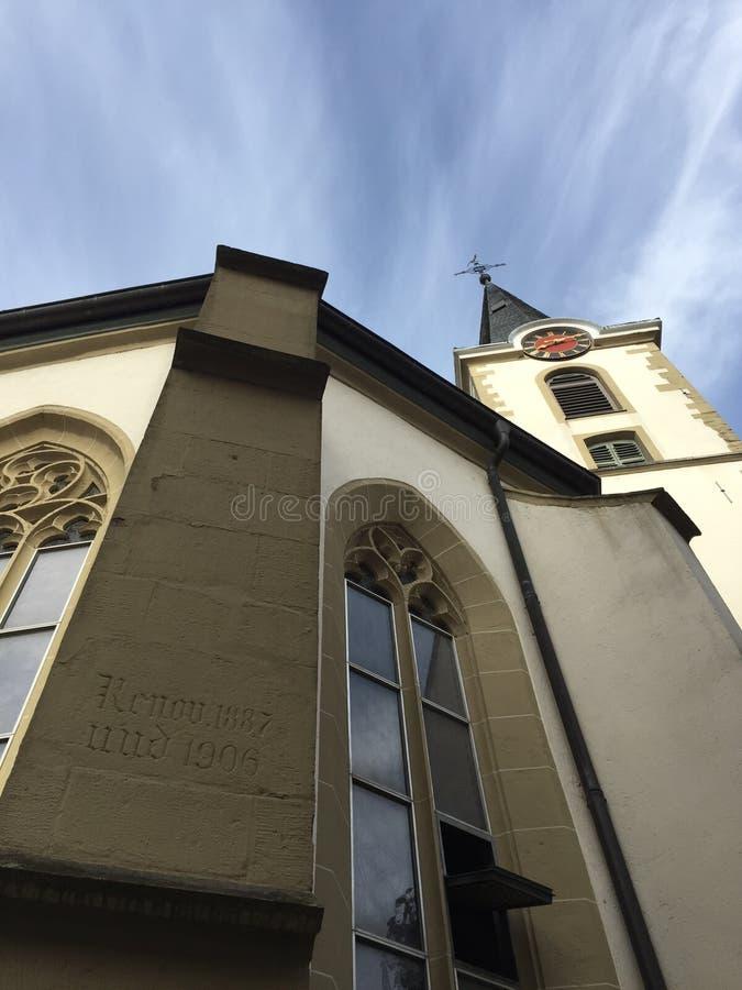 教会wiesloch在德国 库存照片